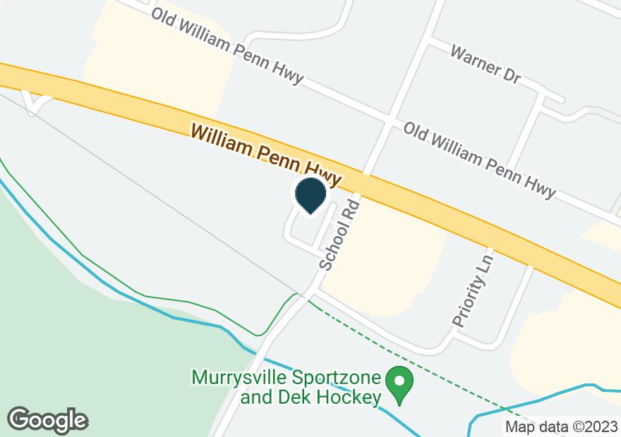 Google Map of4667 WILLIAM PENN HWY