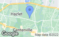 Map of Hazlet, NJ