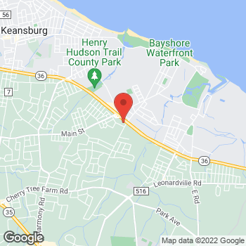 Map of Rite Aid at 200 Wilson Avenue, Port Monmouth, NJ 07758