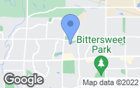 Map of Greeley, CO