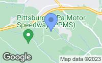 Map of Oakdale, PA