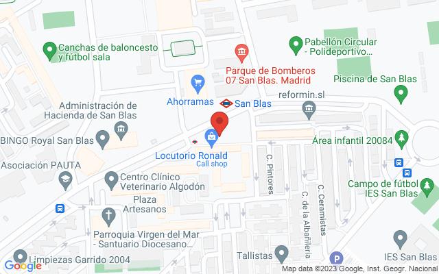 Administración nº116 de Madrid
