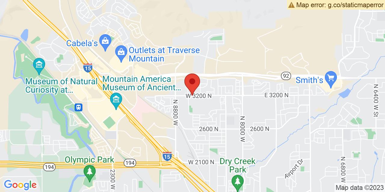 Google Map General Area