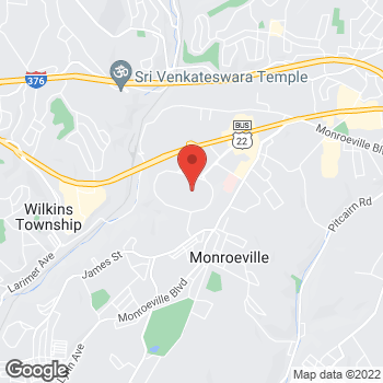 Map of location-map at 203 Monroeville Mall, Monroeville, PA 15146