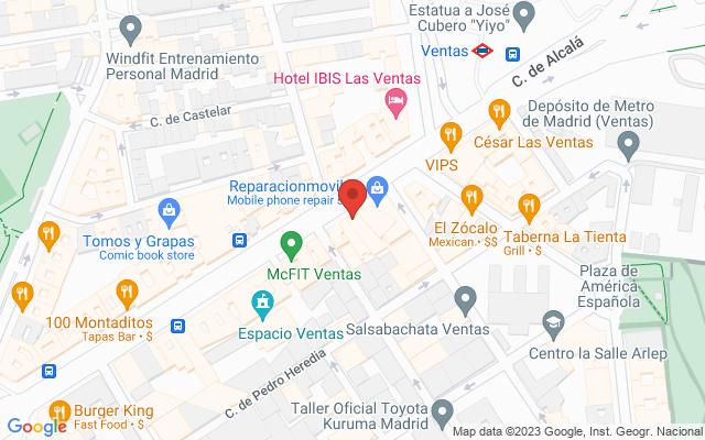 Administración nº58 de Madrid
