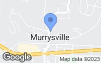 Map of Murrysville, PA