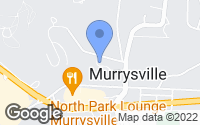 Map of Murrysville, PA