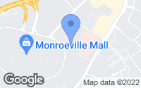 Map of Monroeville, PA