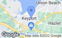 Map of Keyport, NJ