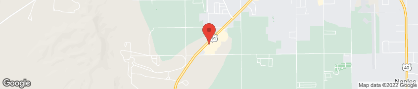 Map of 2097 W. Highway 40 in Vernal