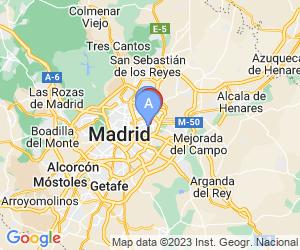 Karte für Ilunion Alcalá Norte