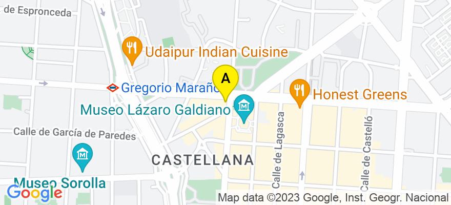situacion en el mapa de . Direccion: Calle Serrano, 93, 3º E, 28006 Madrid. Madrid