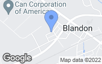 Map of Blandon, PA
