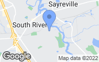 Map of South River, NJ