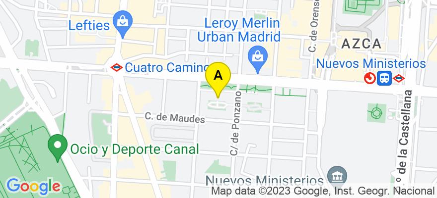 situacion en el mapa de . Direccion: Calle Raimundo Fernández Villaverde, 26, 3º, Puerta 233, 28003 Madrid. Madrid