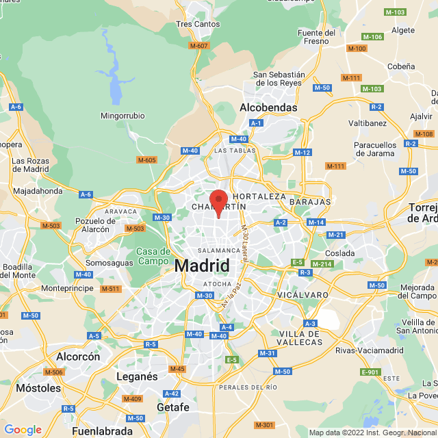 Real Madrid Club de Futbol map
