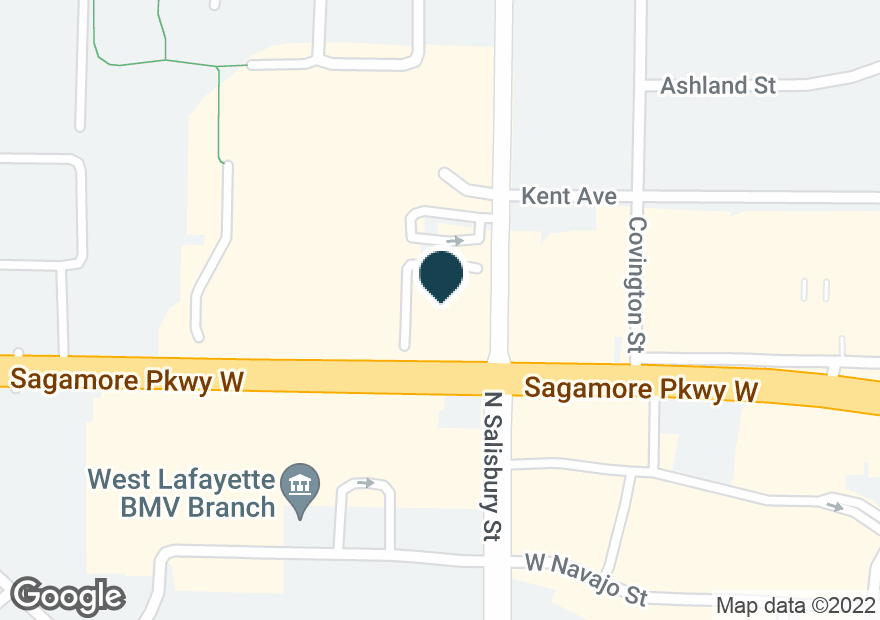 Google Map of1000 SAGAMORE PKWY W