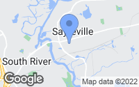 Map of Sayreville, NJ