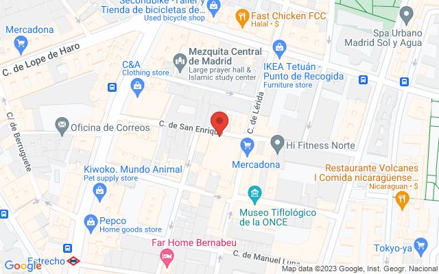 Administración nº156 de Madrid