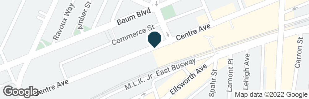 Google Map of5956 CENTRE AVE