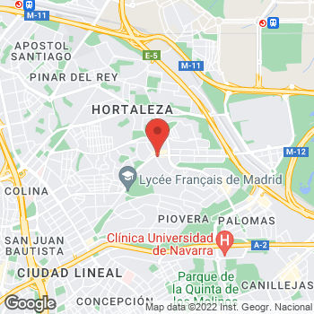 Map of Tony Roma's at Calle Silvano, 92, Madrid, Madrid 28043