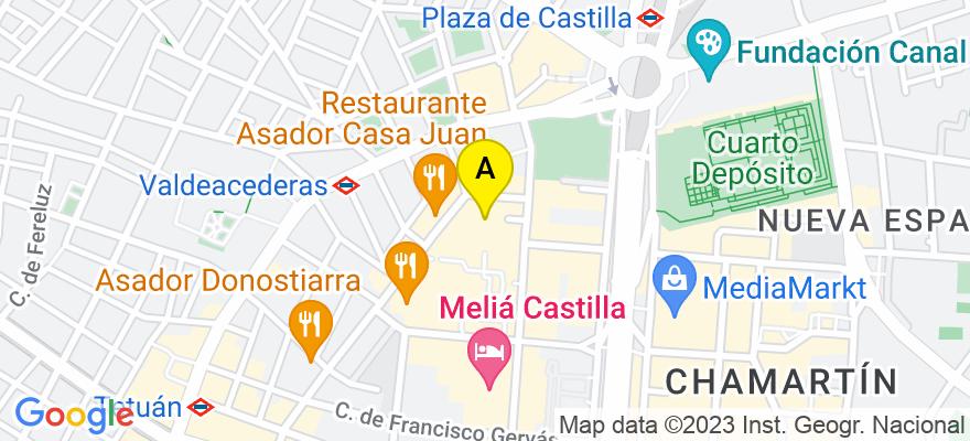 situacion en el mapa de . Direccion: Calle Capitán Haya, 55 1º - OF-1, 28020 Madrid. Madrid