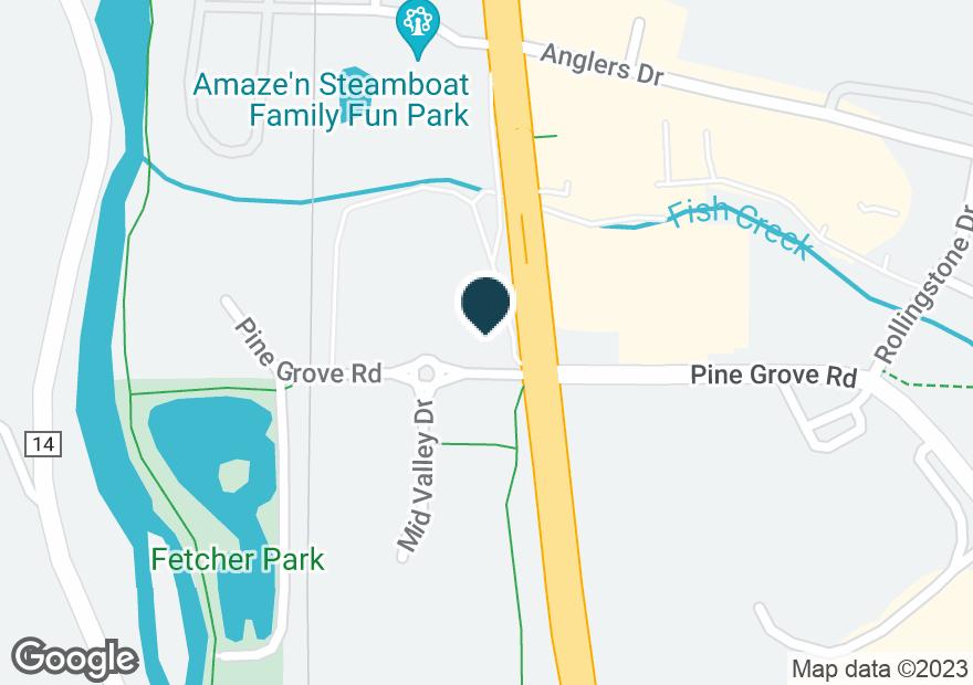 Google Map of1440 PINE GROVE RD