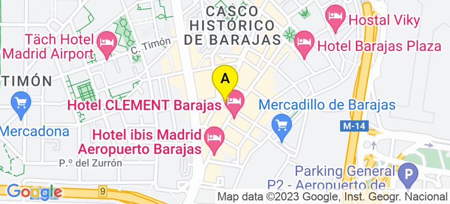 situacion en el mapa de . Direccion: C/ GONZALO DE CESPEDES 7, 28042 Madrid. Madrid