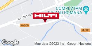 Obtener indicaciones para Tienda Hilti-Madrid (Alcalá de Henares)
