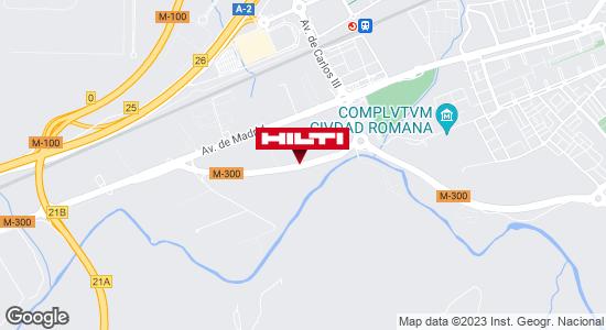 Tienda Hilti-Madrid (Alcalá de Henares)