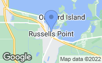 Map of Russells Point, OH