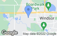 Map of Windsor, CO