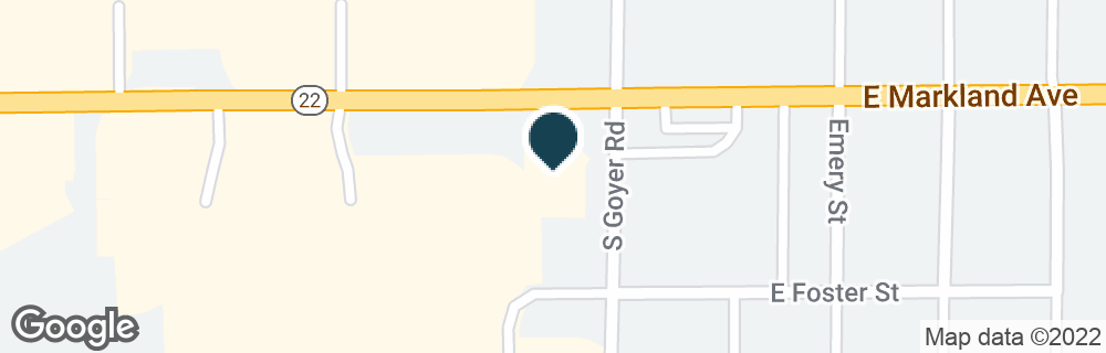 Google Map of2345 E MARKLAND AVE