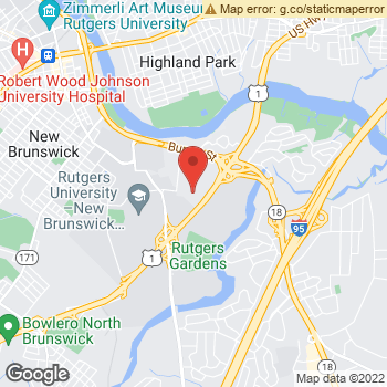 Map of Dr. Justin Wong & Associates at 51 U.S. Hwy. 1, New Brunswick, NJ 08901