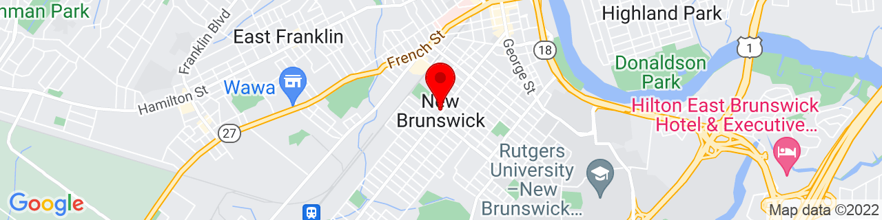Google Map of 40.4862157, -74.4518188