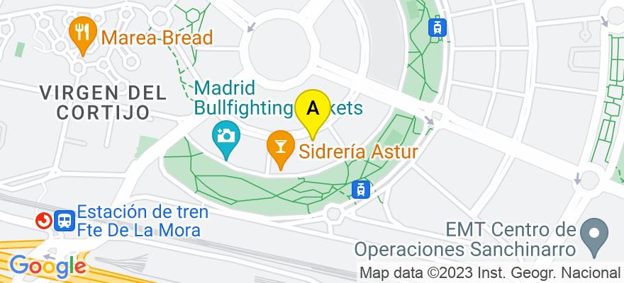 situacion en el mapa de . Direccion: C/ PRINCESA, 24, 28008 Madrid. Madrid