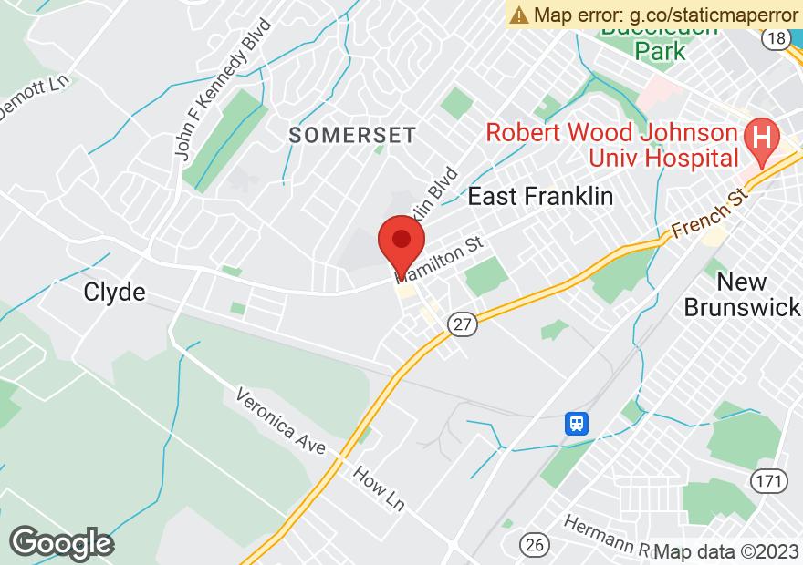Google Map of 920 HAMILTON ST