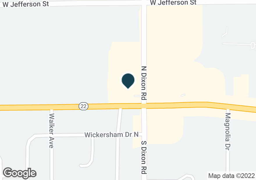 Google Map of2400 W SYCAMORE ST