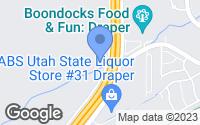 Map of Draper, UT