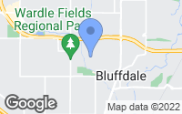 Map of Bluffdale, UT