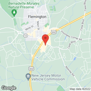 Map of Bed Bath & Beyond at 276 Route 202/31 N, Flemington, NJ 08822