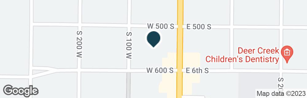 Google Map of560 S MAIN ST