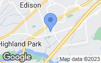 Map of Edison, NJ