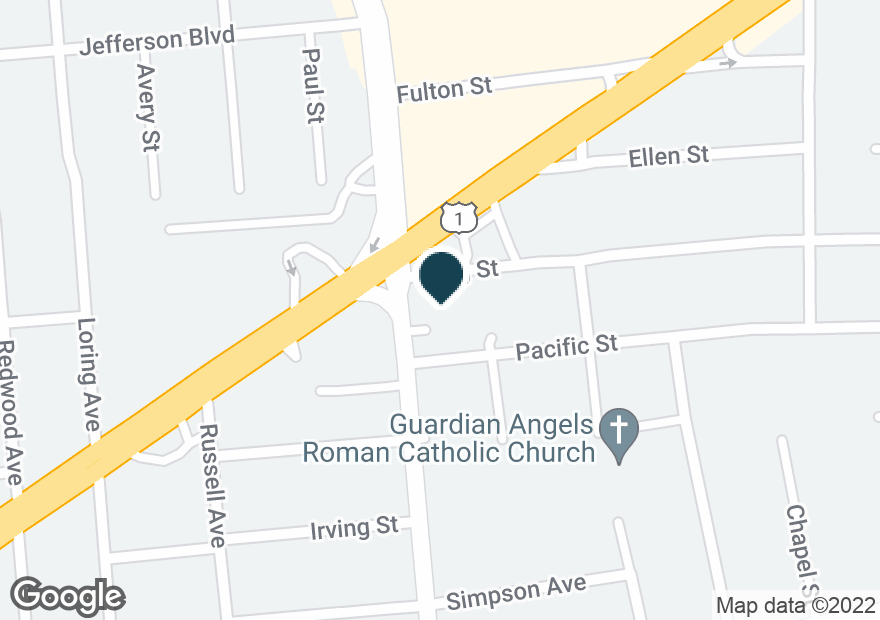 Google Map of81 PLAINFIELD AVE