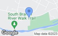 Map of Branchburg, NJ