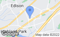 Map of Edison, NJ