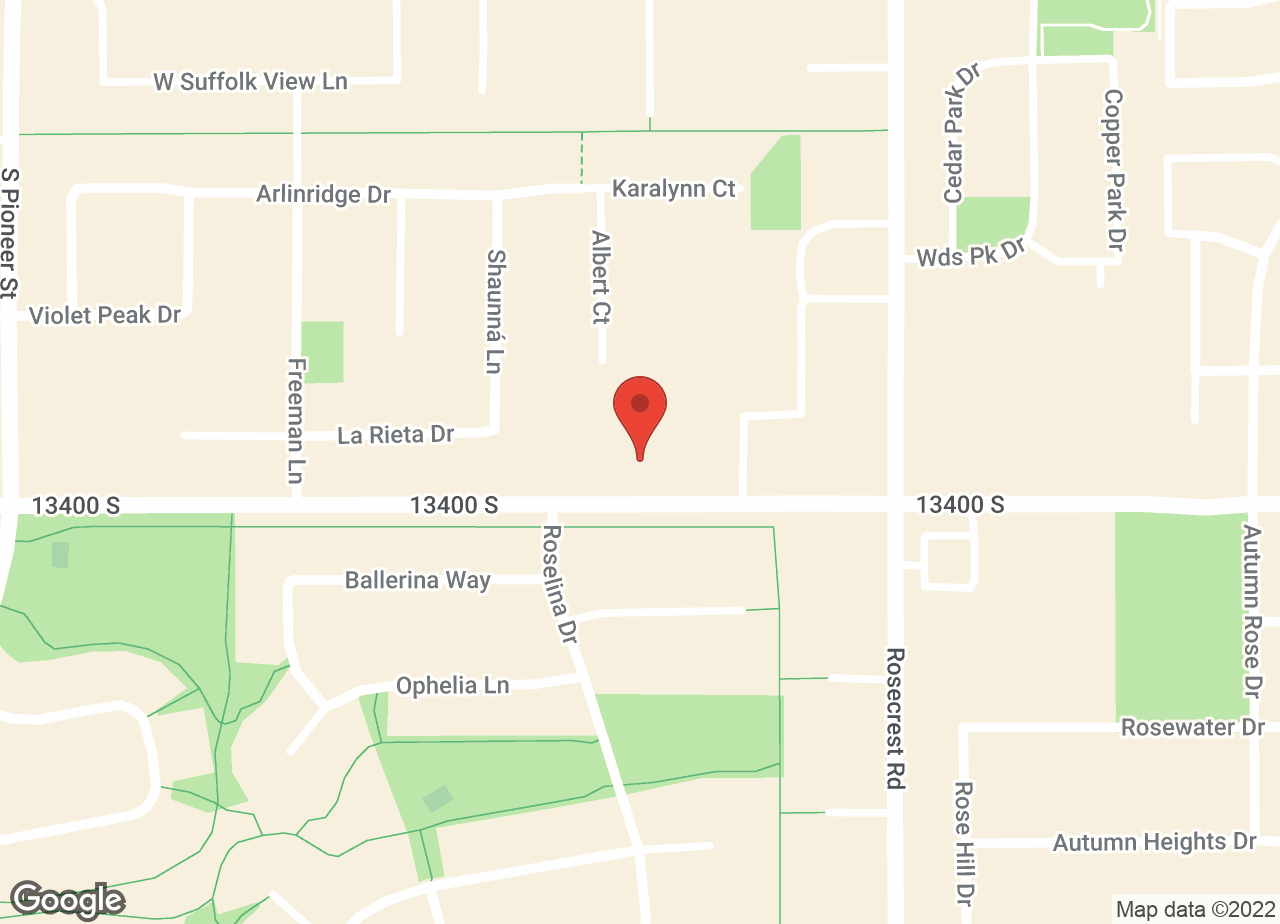 Google Map of VCA Oquirrh Hills Animal Hospital