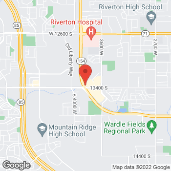 Map of Peter Anderson, MD at 13348 S Market Center Drive, Riverton, UT 84065