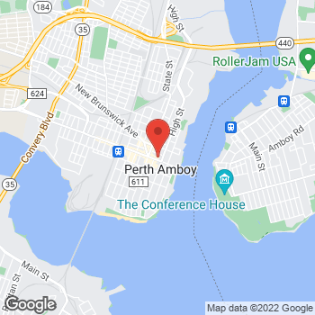 Map of Rite Aid at 76 Smith Street, Perth Amboy, NJ 08861
