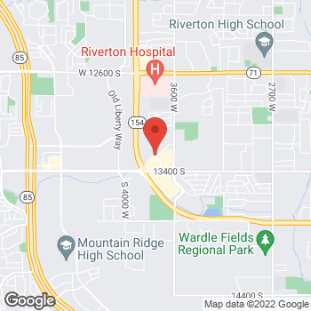 Map of Denise Boudreaux-Nippert, MD at 13348 S Market Center Dr, Riverton, UT 84065